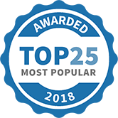 Quickfit Blinds and Curtains is rated number three of the Top 25 Most Popular Home Renovation Sites by Home Improvement 2Day.